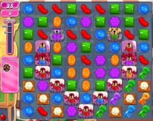 Candy Crush Saga - niveau level 785