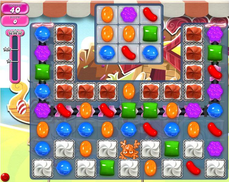 Candy Crush Saga - niveau level 787