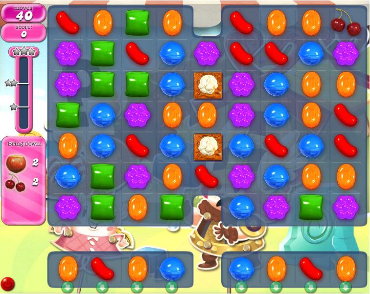 Candy Crush Saga - niveau level 790