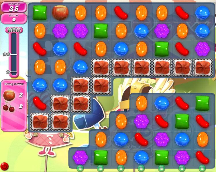 Candy Crush Saga - niveau level 796