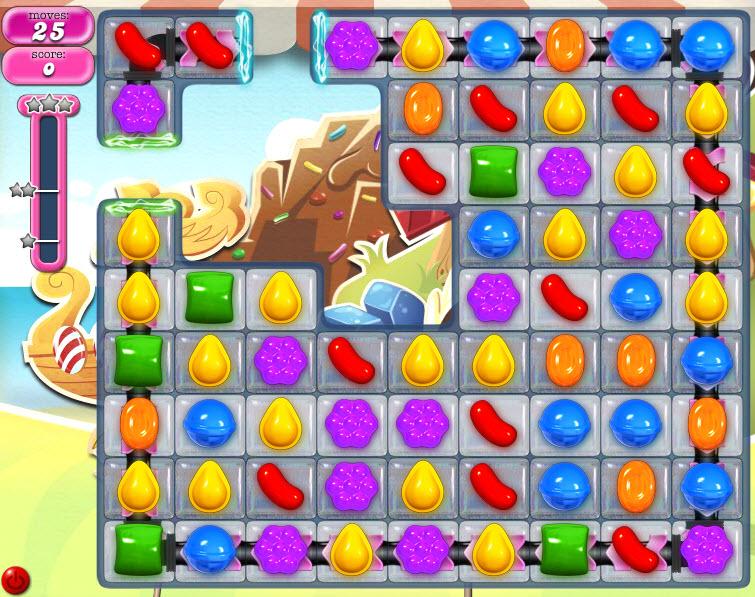 Candy Crush Saga - niveau level 800
