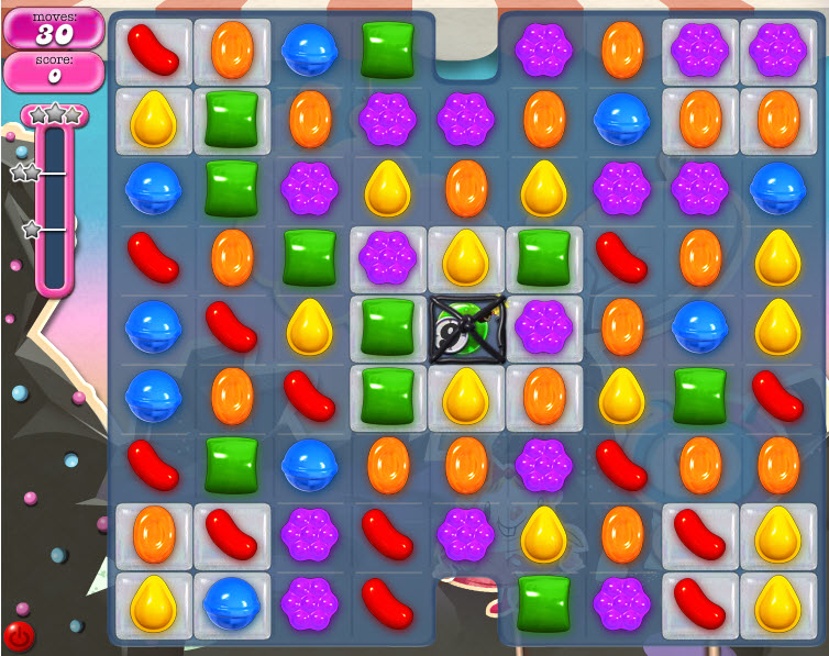 Candy Crush Saga niveau 105