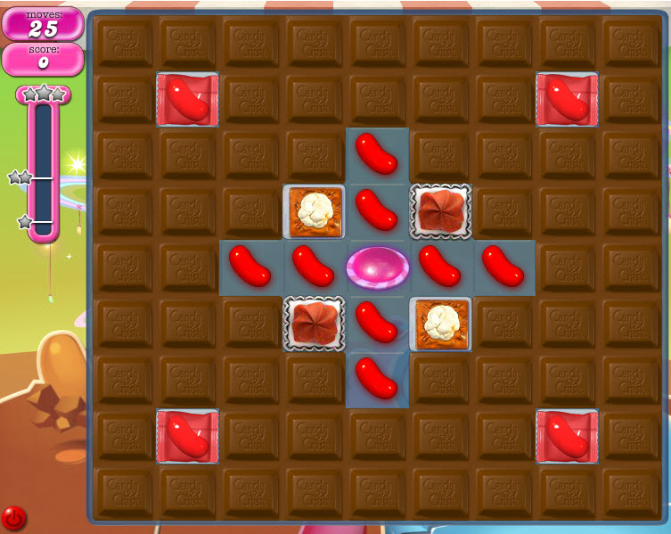 Candy Crush Saga niveau 846