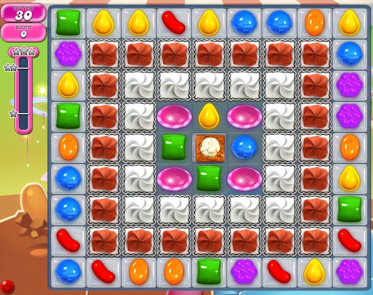 Candy Crush Saga niveau 847