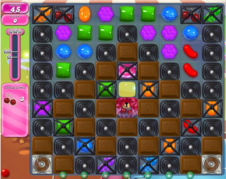 Candy Crush Saga niveau 849