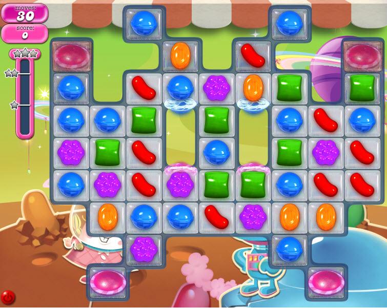 Candy Crush Saga niveau 850