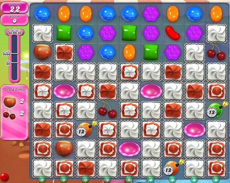 Candy Crush Saga niveau 851