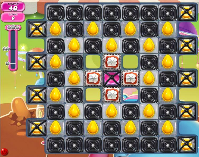Candy Crush Saga niveau 852