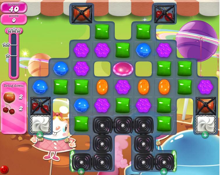 Candy Crush Saga niveau 853