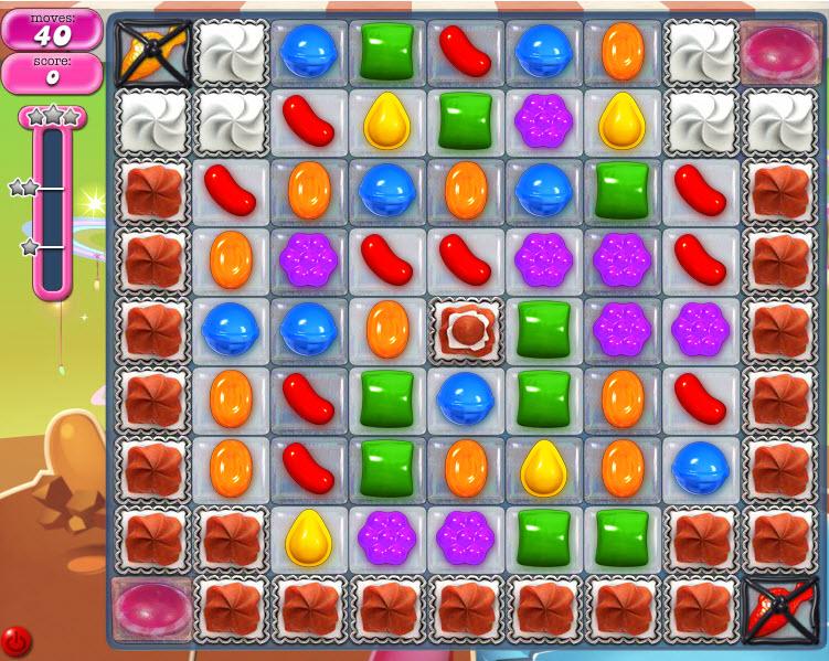 Candy Crush Saga niveau 855