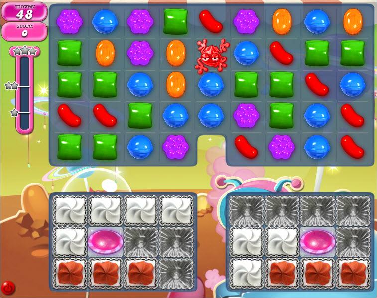Candy Crush Saga niveau 856