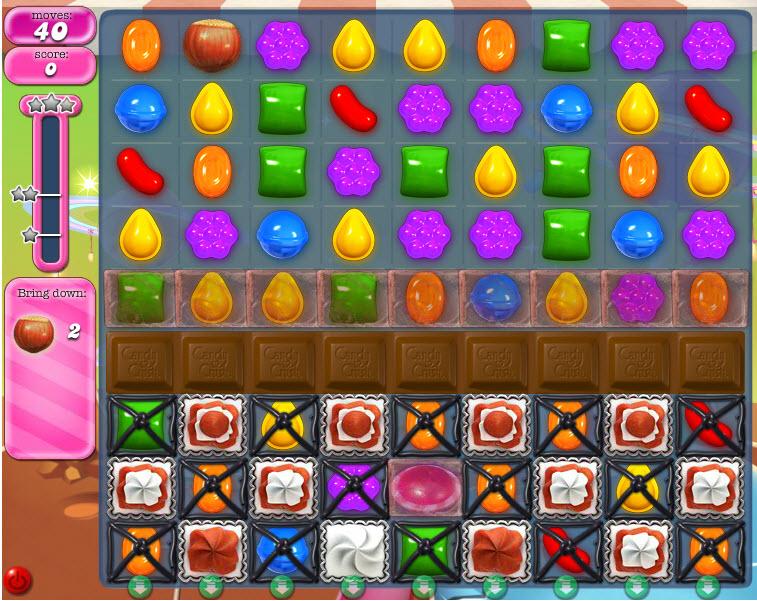 Candy Crush Saga niveau 858