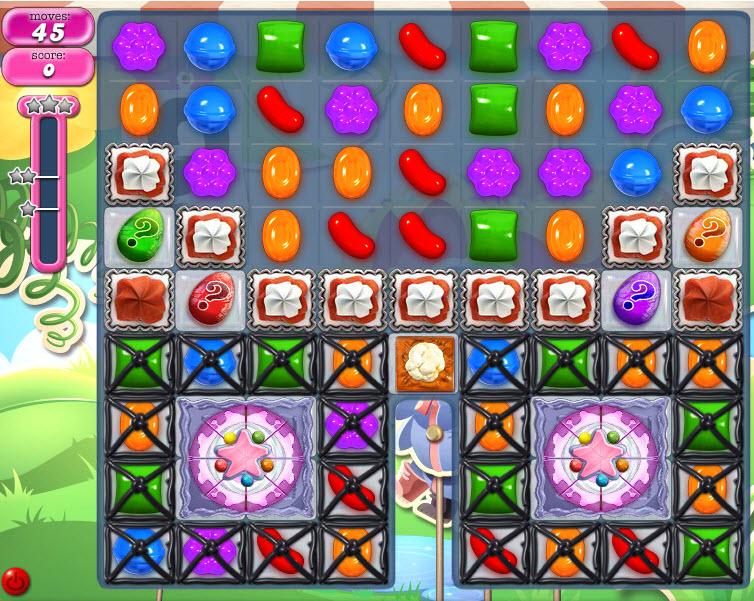 Candy Crush Saga - niveau 801