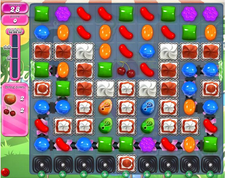 Candy Crush Saga - niveau 802