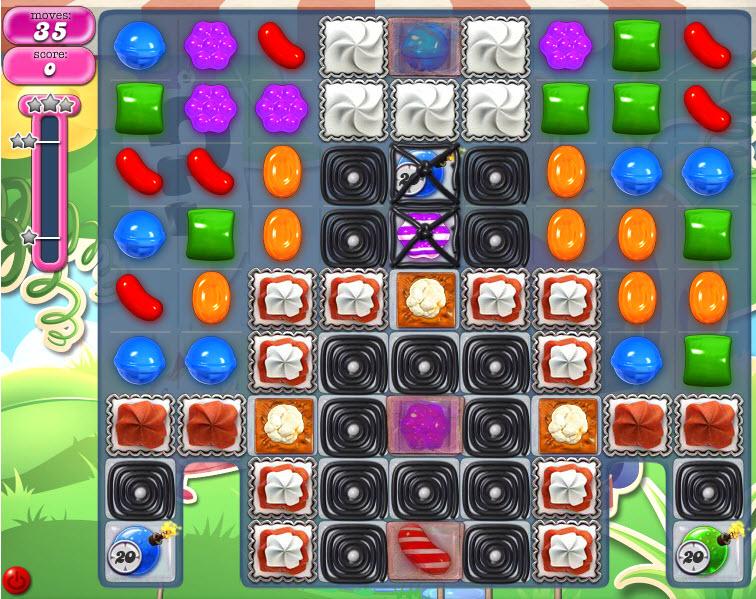 Candy Crush Saga - niveau 803