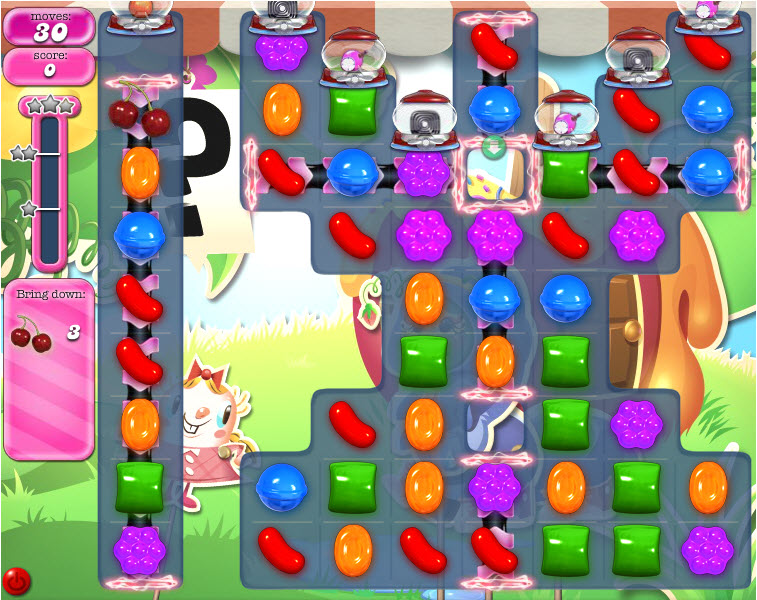 Candy Crush Saga - niveau 805