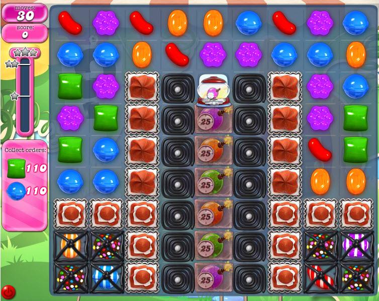 Candy Crush Saga - niveau 806
