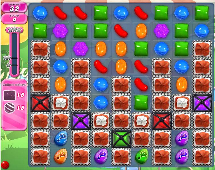 Candy Crush Saga - niveau 807