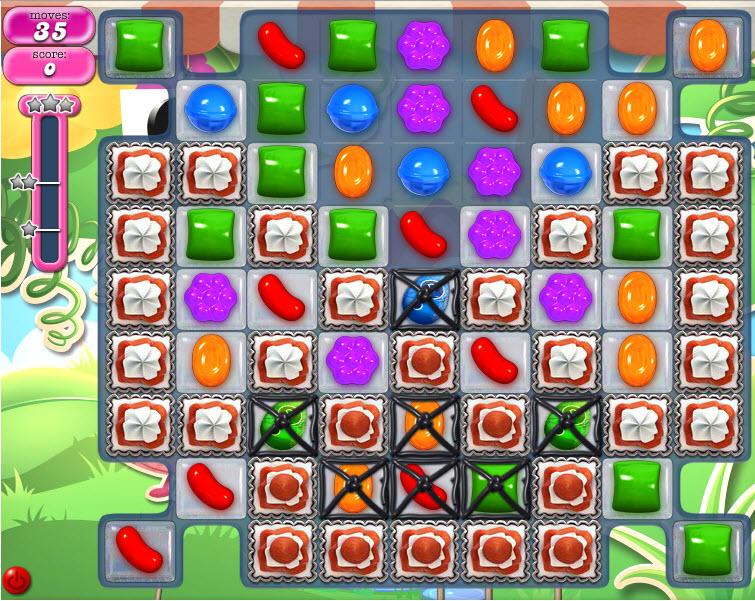 Candy Crush Saga - niveau 808