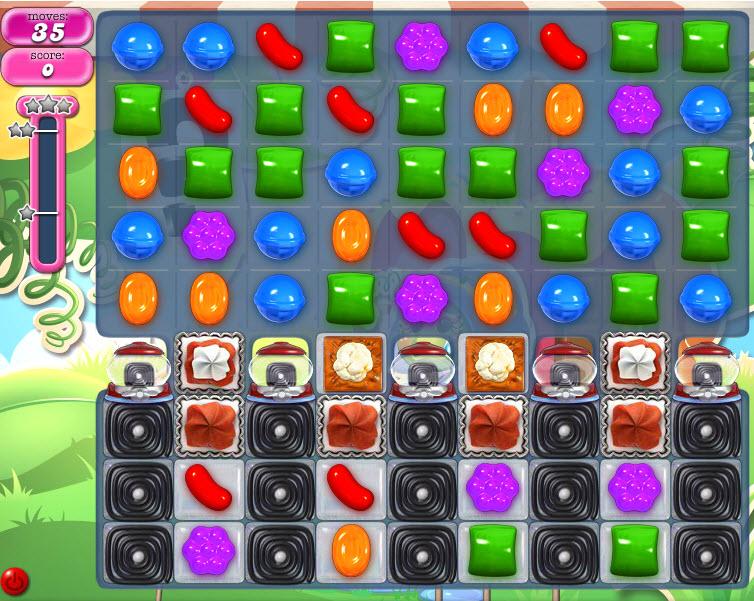 Candy Crush Saga - niveau 809