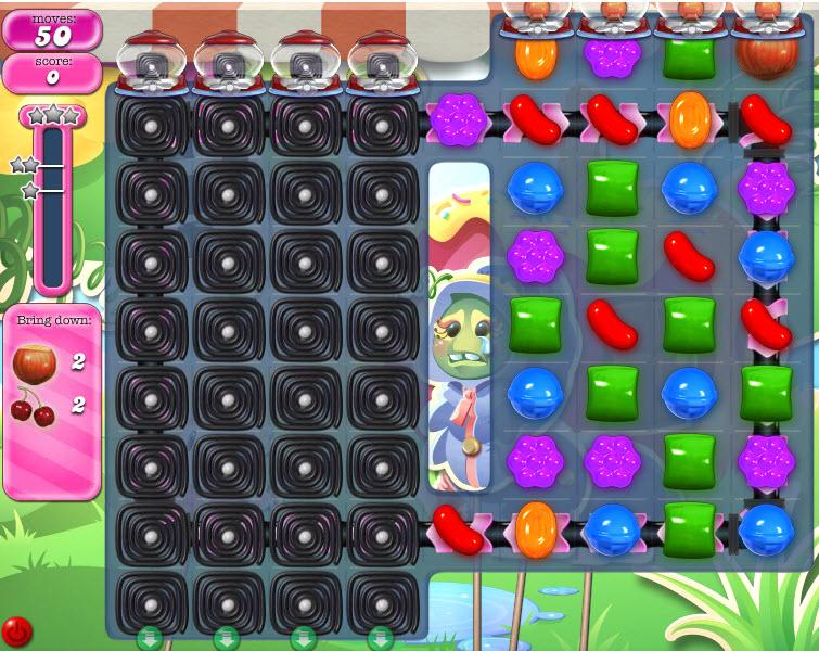 Candy Crush Saga - niveau 811
