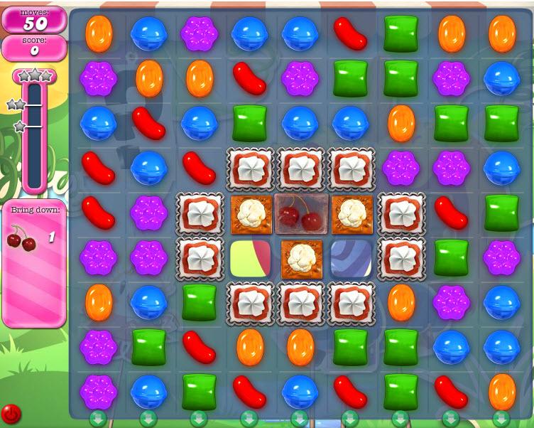 Candy Crush Saga - niveau 812