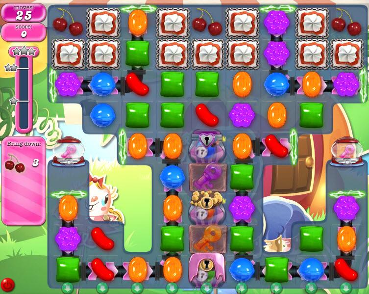 Candy Crush Saga - niveau 813