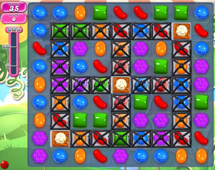 Candy Crush Saga - niveau 814