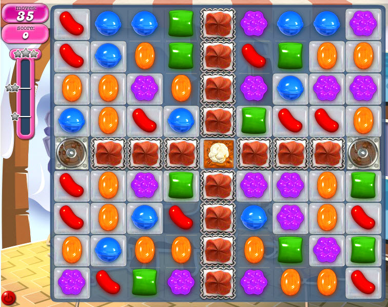 Candy Crush Saga - niveau 816
