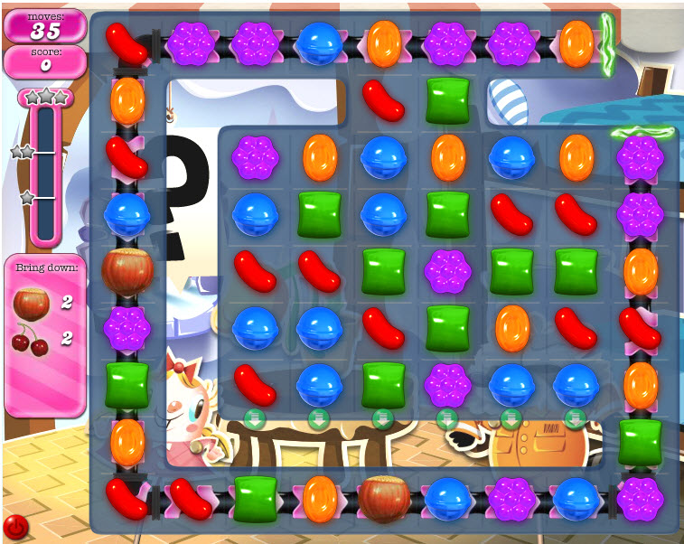 Candy Crush Saga - niveau 818