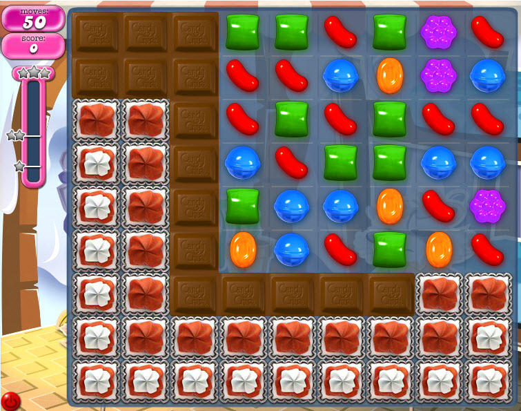 Candy Crush Saga - niveau 822