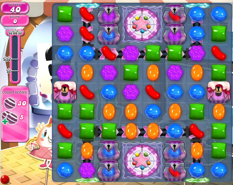 Candy Crush Saga - niveau 824