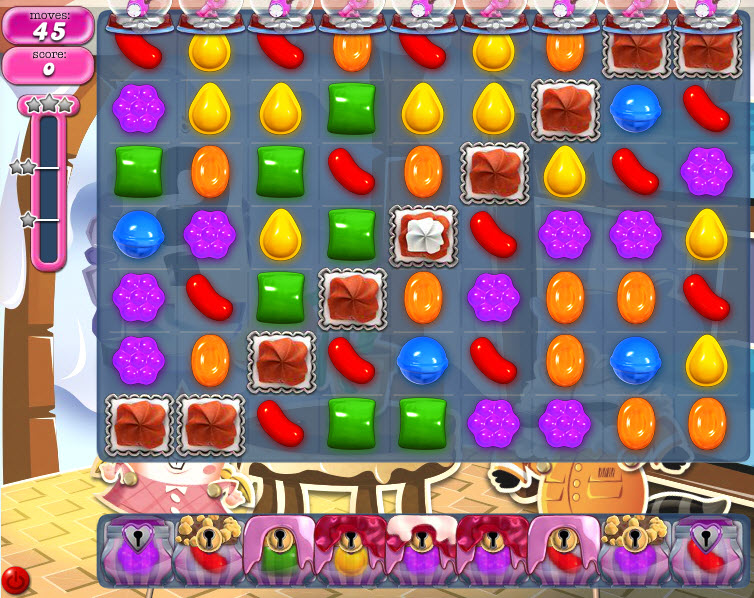 Candy Crush Saga - niveau 827