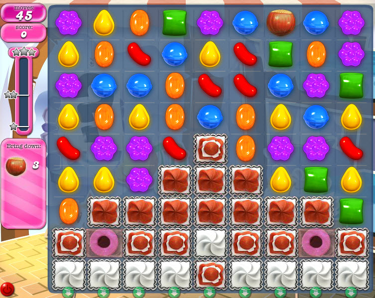Candy Crush Saga - niveau 828