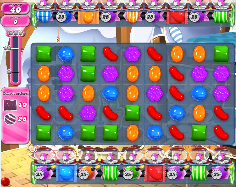 Candy Crush Saga - niveau 829