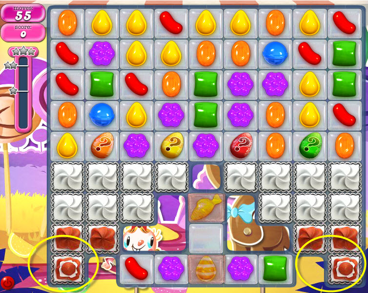 Candy Crush Saga niveau 305