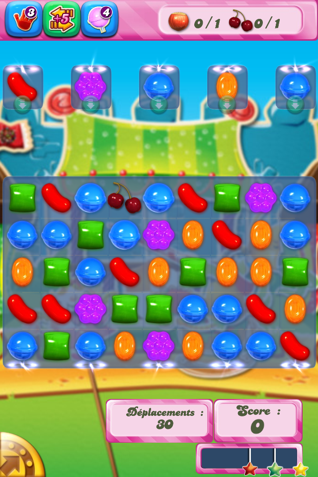 Candy Crush Saga niveau 680 - version smartphone