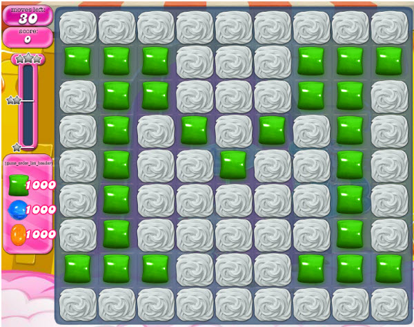 Candy Crush Saga niveau 1000