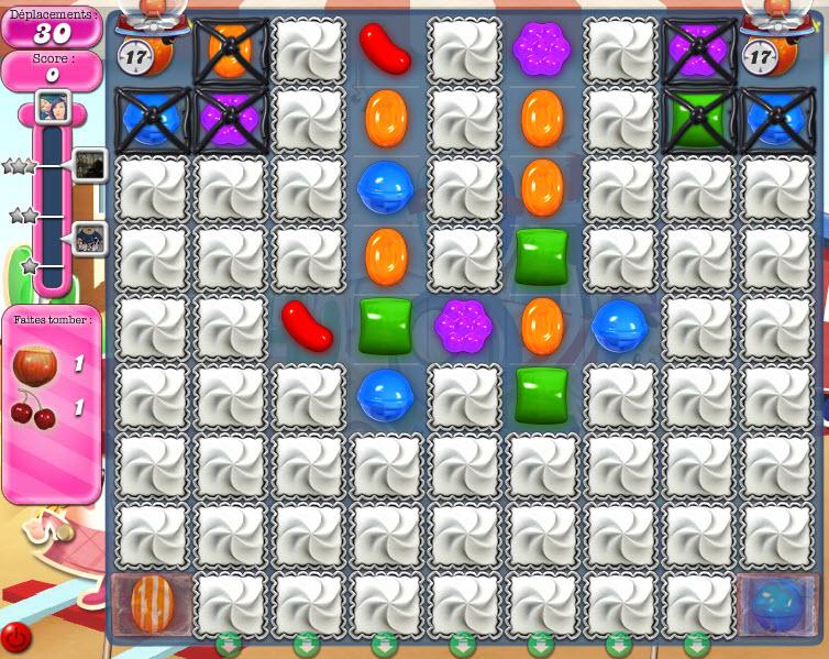 Candy Crush Saga niveau 445