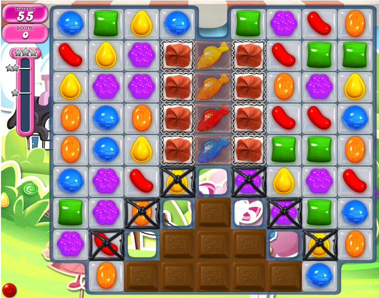 Candy Crush Saga niveau 461