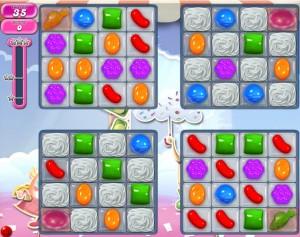 Candy Crush niveau 887