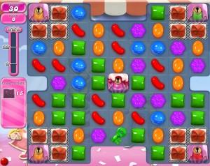 Candy Crush niveau 889