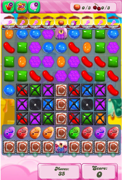 Candy Crush Saga niveau 1001 - version version