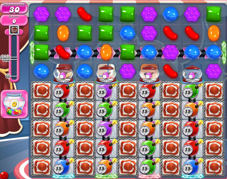 Candy Crush niveau 1107