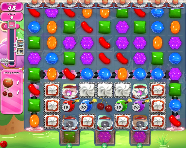 Candy Crush Saga niveau 963