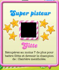 Titre de champion de l'épisode 64 : Super Pisteur