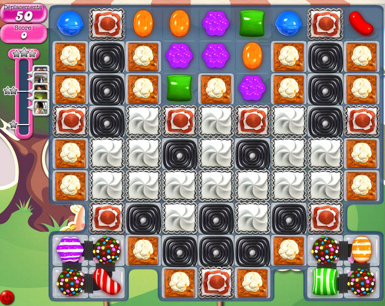 Candy Crush Saga niveau 1136
