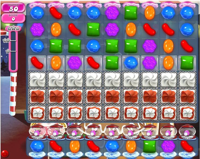 Candy Crush Saga niveau 273