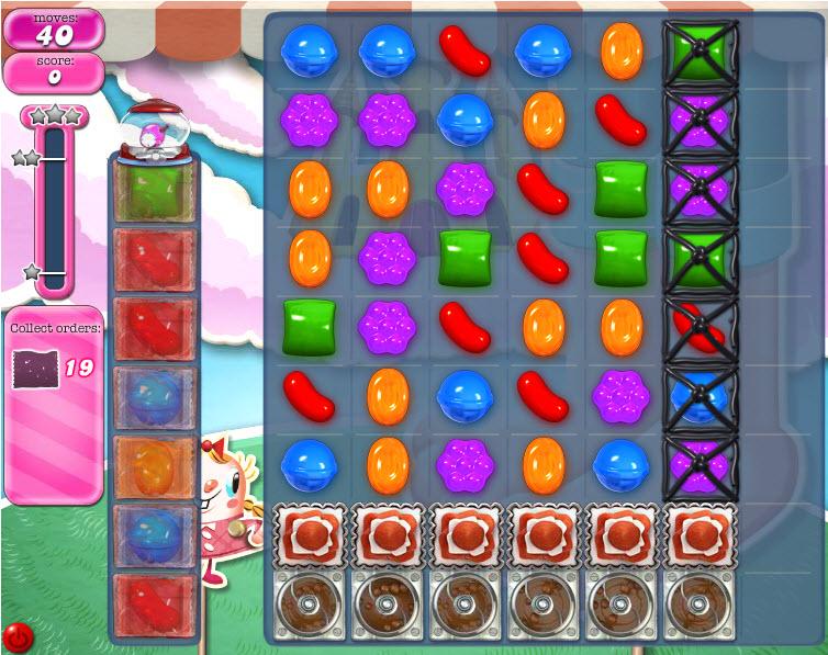 Candy Crush Saga niveau 277