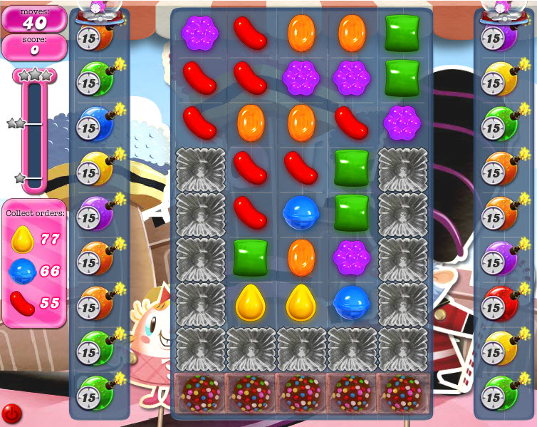 Candy Crush Saga niveau 391